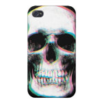Trippy Colorful Skull iPhone Case Cases For iPhone 4