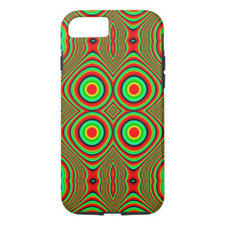 trippy colors iPhone 7 case