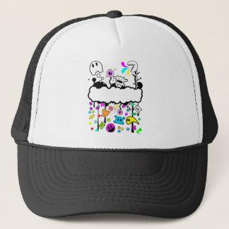 Trippy de-do-da trucker hat