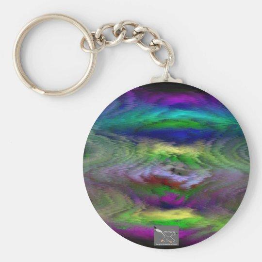 Trippy Design Keychain