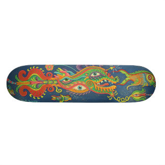 Trippy Fishies Skateboard