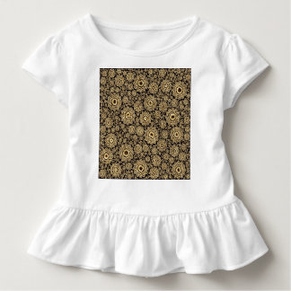 trippy floral golden (C) Toddler T-shirt