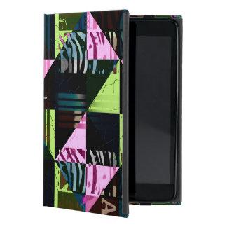 Trippy Florescent Pink Diva Case For iPad Mini