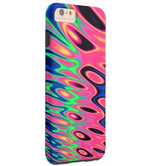 Trippy Florescent Twirls Tough iPhone 6 Plus Case