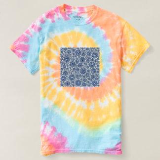 trippy foral blue (c) t-shirt