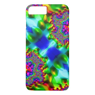 Trippy Fractal Abstract iPhone 7 Plus Case