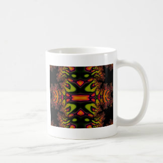Trippy Fractal Design Classic White Coffee Mug