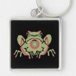 Trippy Frog Keychain