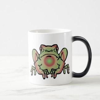 Trippy Frog Magic Mug