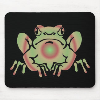 Trippy Frog Mouse Pad