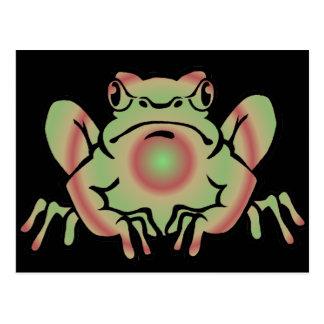 Trippy Frog Postcard