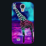 "Trippy Giraffe Samsung Galaxy S4 Cover<br><div class=""desc"">This phone case is stylish and protective.</div>"