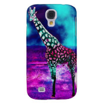 Trippy Giraffe Samsung Galaxy S4 Cover