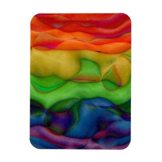 Trippy Hippie Rainbow Pride Magnets