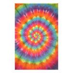Trippy Little Swirl Tie Dye PhatDyes Stationery Design