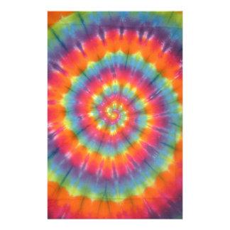 Trippy Little Swirl Tie Dye PhatDyes Stationery