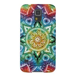 Trippy Mandala Galaxy S5 Cases