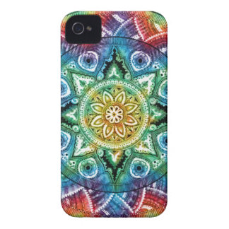 Trippy Mandala iPhone 4 Case-Mate Case