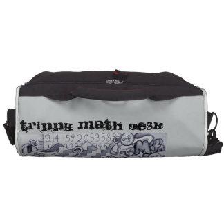 tRIPPY mATH gE3K Laptop Messenger Bag