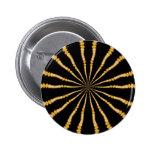 Trippy Mesmerizing Dimensional Spiral Pin