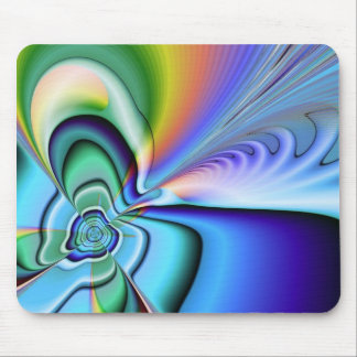 Trippy mouse pad
