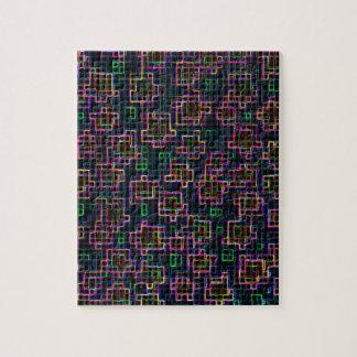 Trippy Pixel Art Jigsaw Puzzle