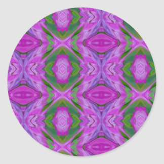 trippy products classic round sticker