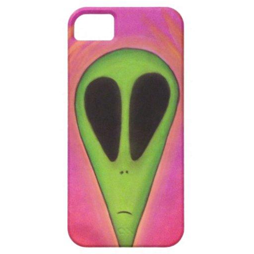 Trippy psychadelic Alien iPhone 5 Cases