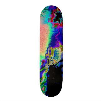 trippy psychedelic skateboard skate decks