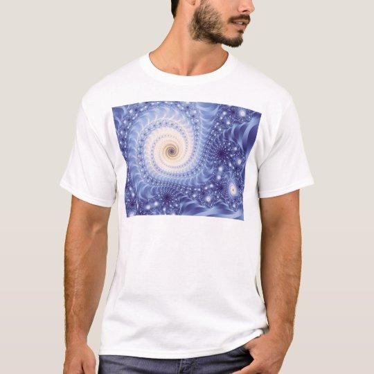 Trippy Psychedelic Starstorm Fine Fractal T-Shirt