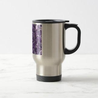 Trippy púrpura taza de viaje