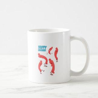 Trippy Sausage Print Coffee Mug