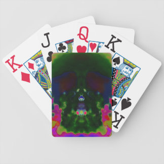 Trippy Skull Hidden Pictures Playing Cards