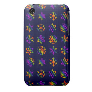 Trippy Snowflakes Case-Mate iPhone 3 Case