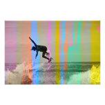 Trippy surf 1 photo print