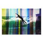 Trippy surf 2 photo print