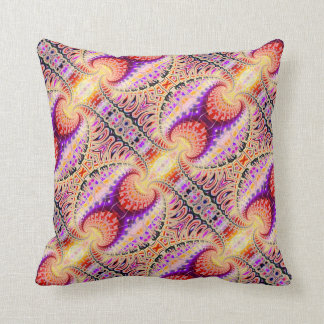 Trippy, Surreal Fractal Magic Pillow