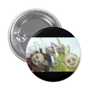 Trippy Tubbies Pinback Button