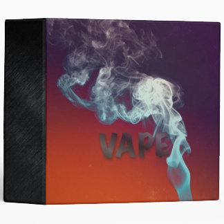 Trippy Vape Clouds Binder
