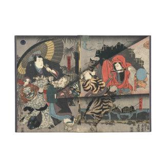Tríptico 1847 de los actores de Kabuki iPad Mini Carcasas
