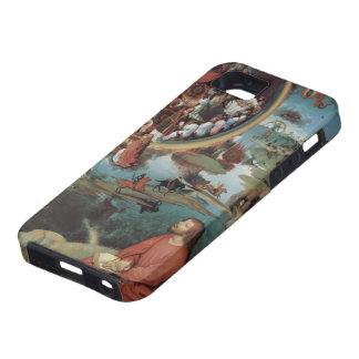 Tríptico de Hans Memling- de la boda mística iPhone 5 Cárcasas