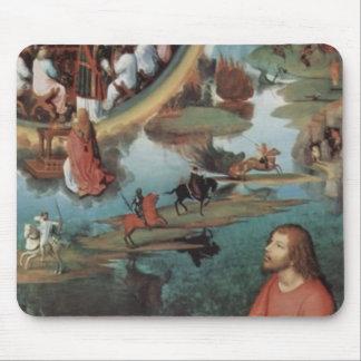 Tríptico de Hans Memling- de la boda mística Tapete De Raton