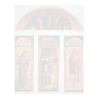 Tríptico de Jacopo Bellini- de la natividad Plantilla De Membrete