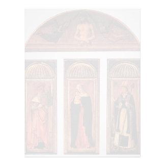 Tríptico de Jacopo Bellini- de la Virgen Membrete Personalizado