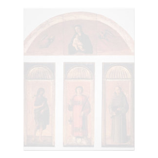 Tríptico de Jacopo Bellini- de St Lawrence Membrete