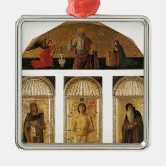 Tríptico de Jacopo Bellini- de St. Sebastian Ornamento De Navidad