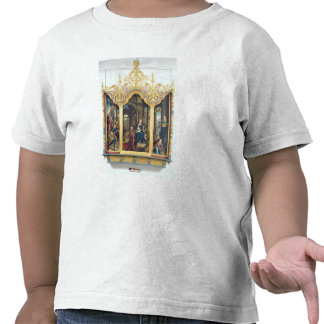 Tríptico de la adoración del Cristo infantil Camisetas