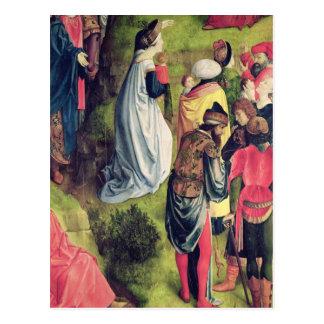 Tríptico de la crucifixión postales