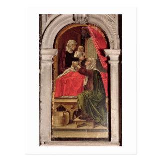 Tríptico de Madonna del Misericordia, 1473 Postales