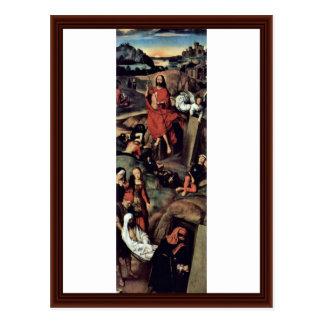 Tríptico del altar de la catedral de Lübeck Tarjetas Postales